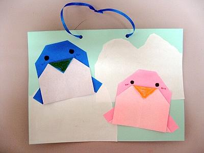 簡単 折り紙 冬の折り紙 : kosodate-fureai.jp